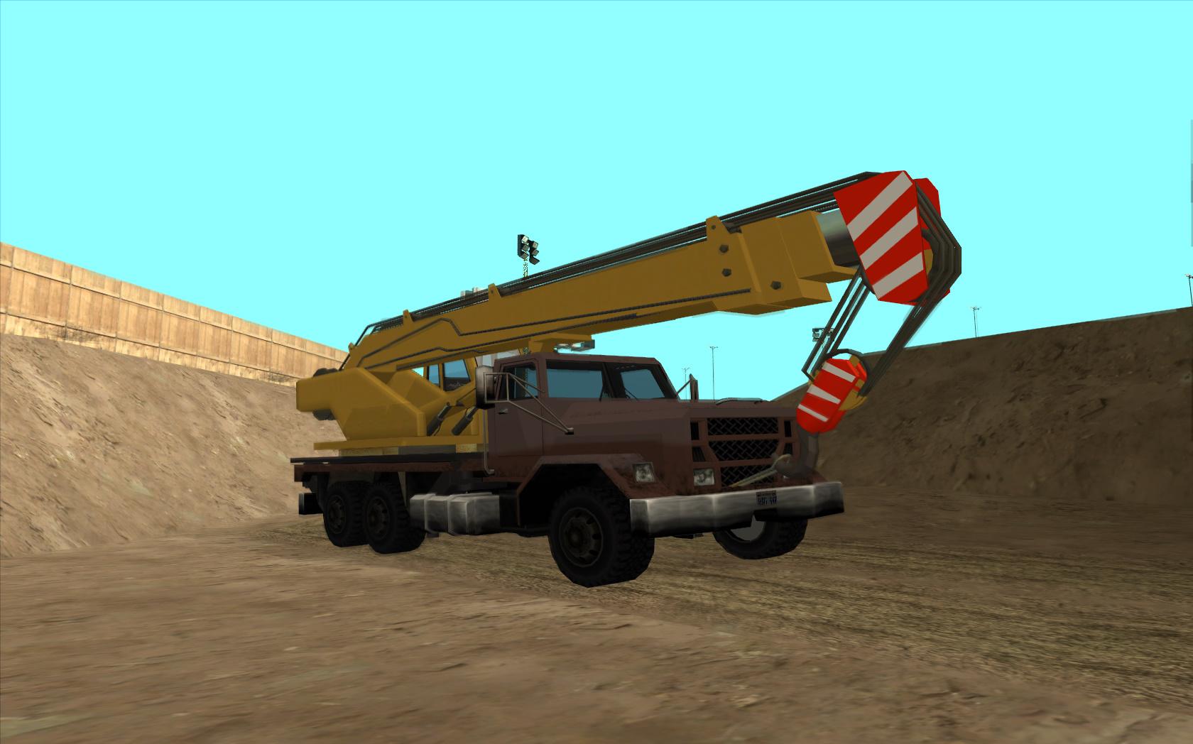 Flatbedトラッククレーン