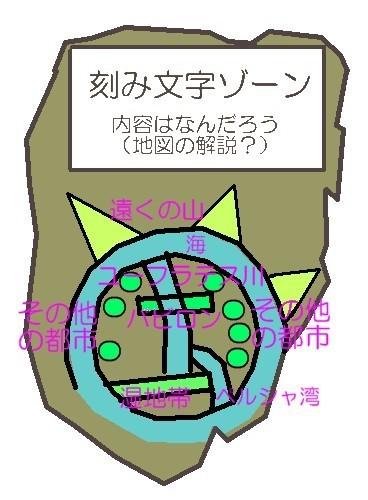 バビロンの世界地図