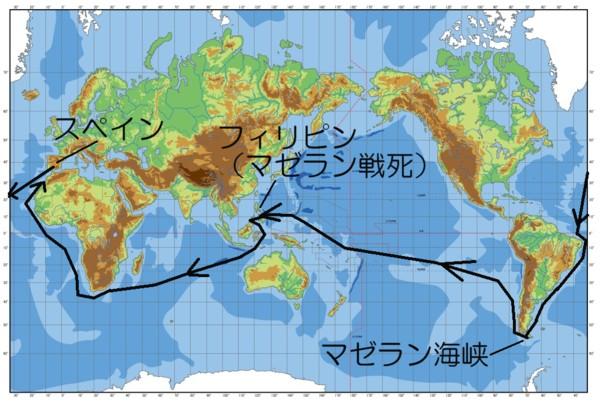 マゼランの航路