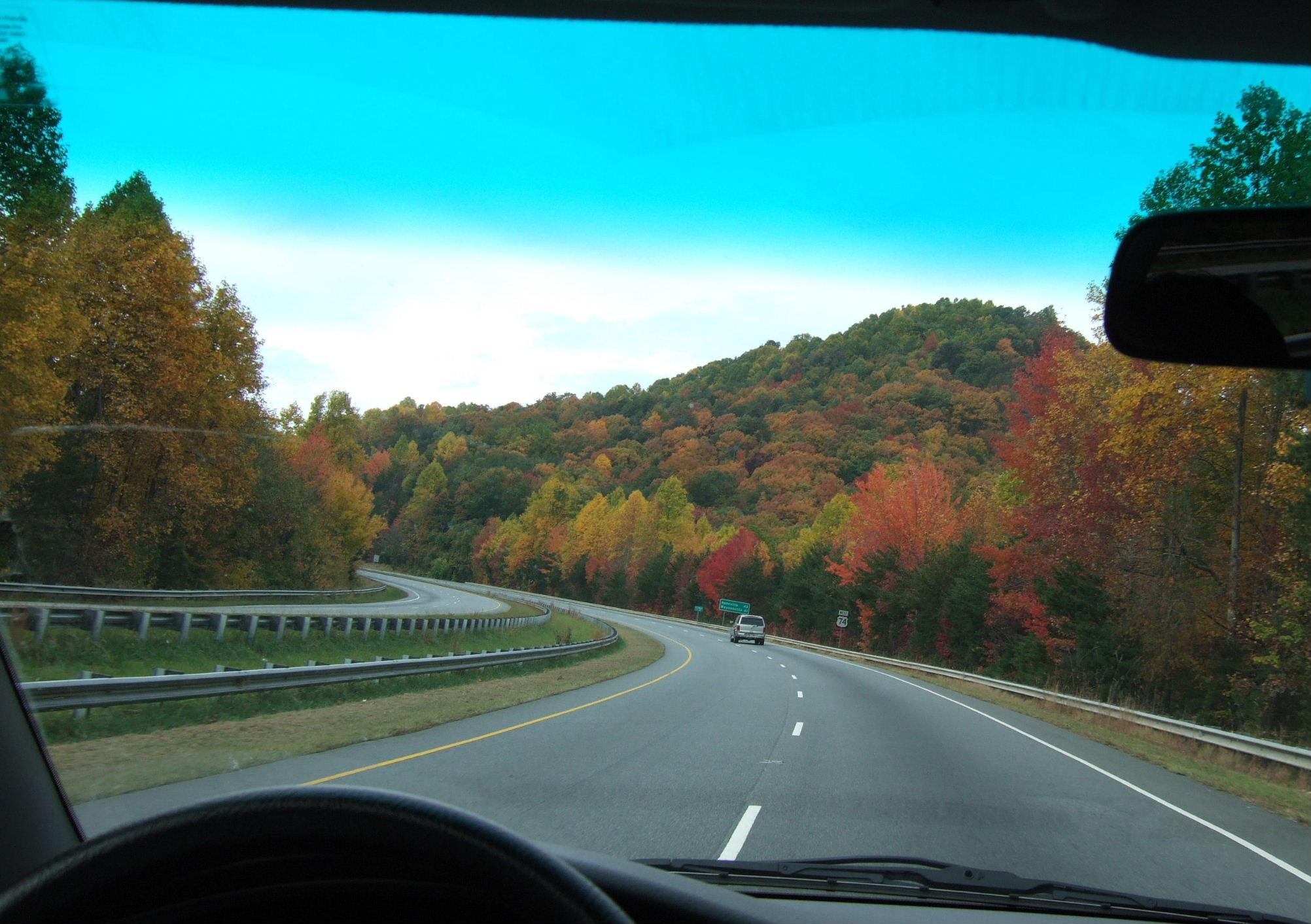 TN紅葉車窓