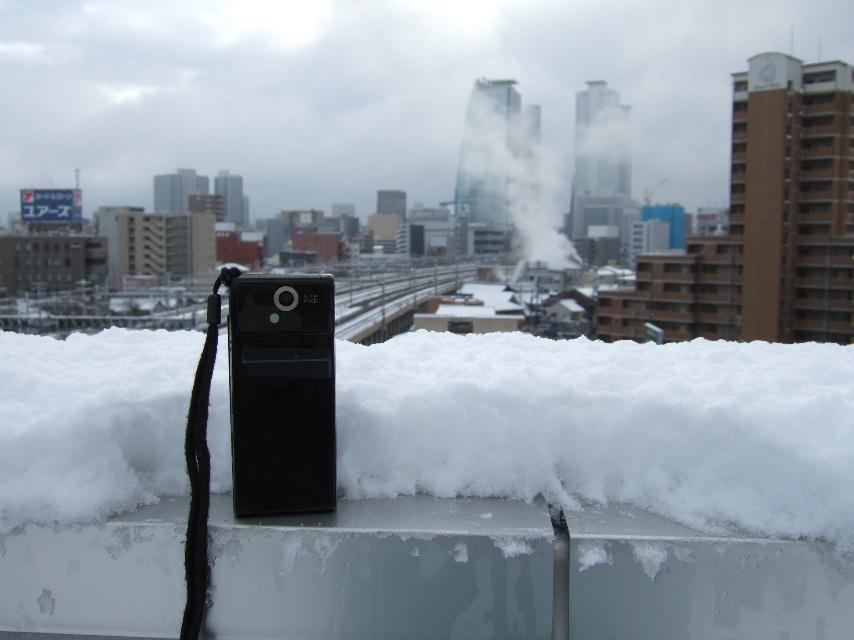 名古屋の積雪