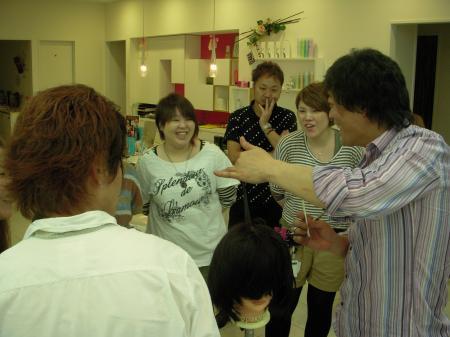 IN SALON カットセミナー 高岡 6月3日