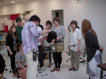 IN SALON カットセミナー 高岡 6月3日#2