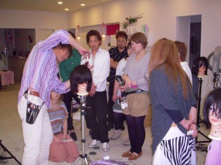 IN SALON カットセミナー 高岡 6月3日#3