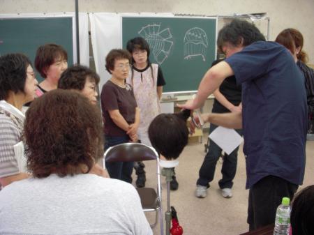2012 ベーシックカットセミナー 秋 富山 #2