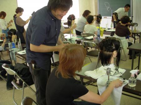 2012 ベーシックカットセミナー 秋 富山 #3