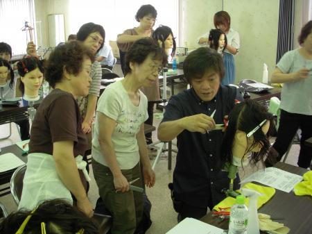 2012 ベーシックカットセミナー 秋 富山 #4