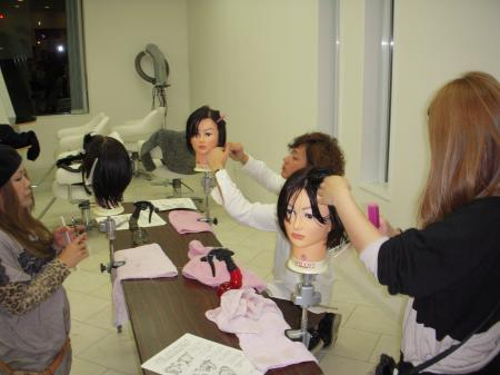 IN SALON カットセミナー 高岡 平成24年11月4日#2