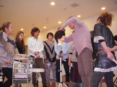 IN SALON カットセミナー 高岡 平成24年11月4日#6