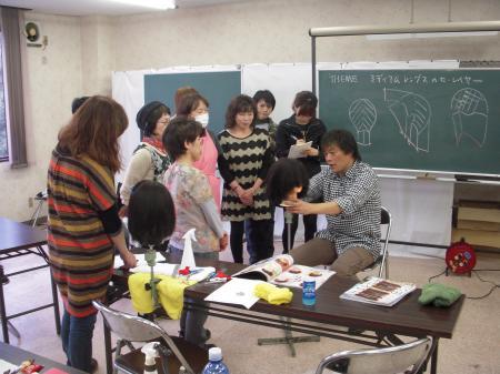 2012 秋 サロンスタイル カットセミナー 富山#3