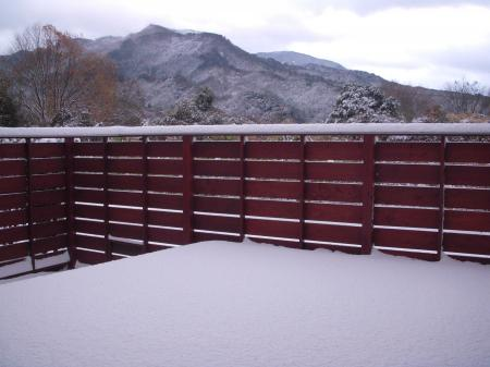 平成24年12月11日 雪景色