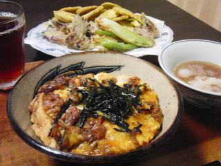 Oct14_牛丼の玉子とじ