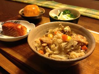 Dec06_鶏炊き込みご飯
