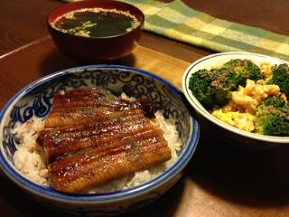 Dec07_鰻丼