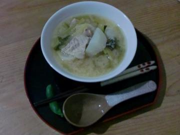 かぶと肉バラのスープ