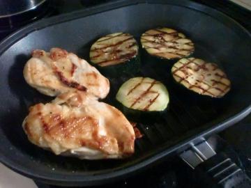 グリルパン料理