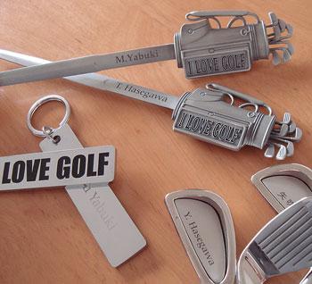 オンネームゴルフ雑貨!