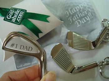 父の日ゴルフギフト!