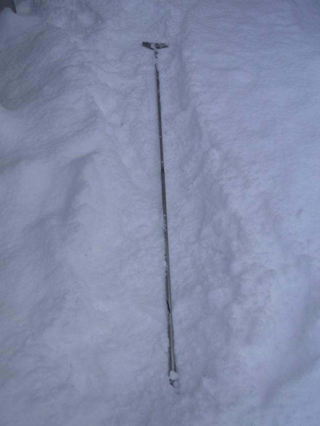 雪庇カッター