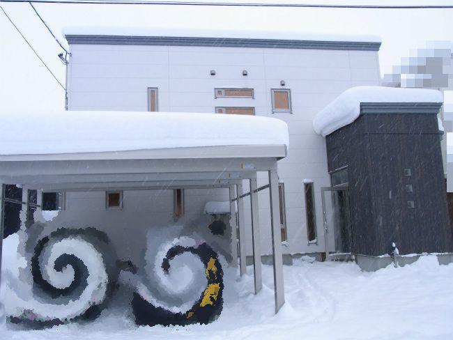 雪庇全体図