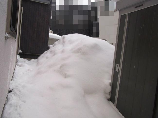 大雪 家裏