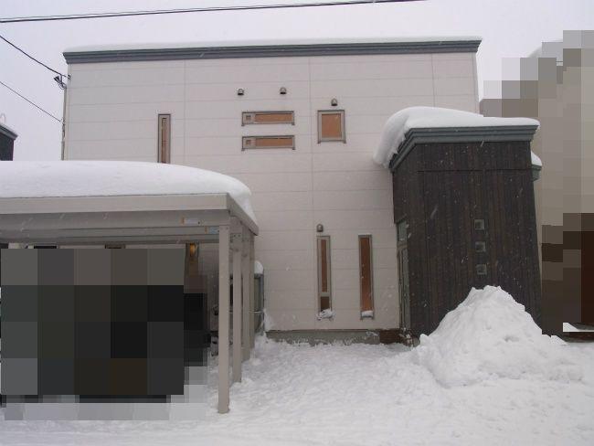 大雪 全体