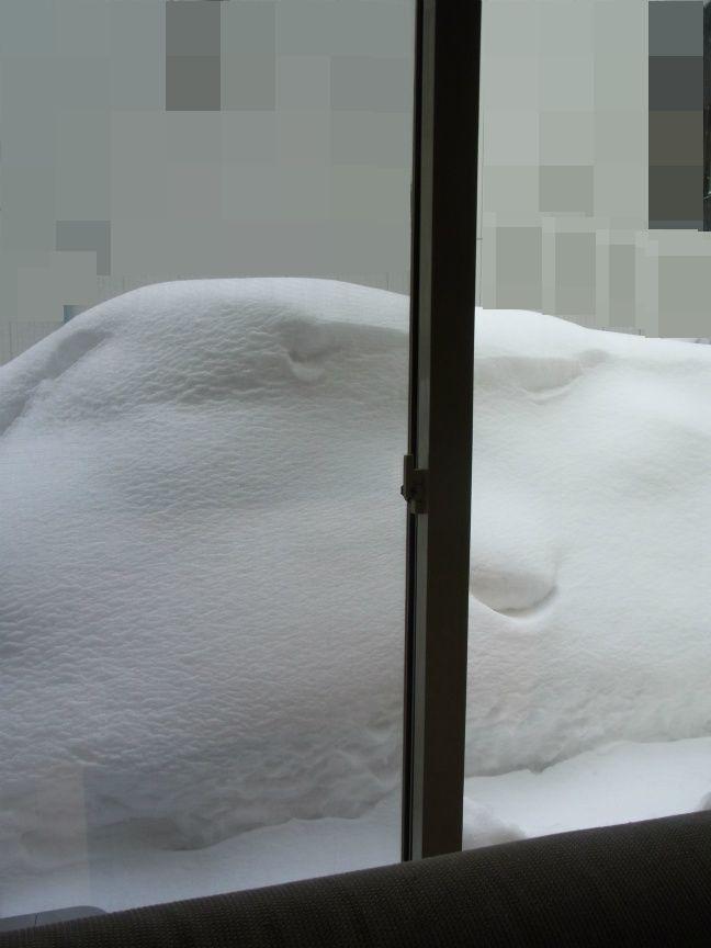 超雪 掃き出し前4