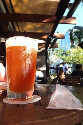 昼ビール!