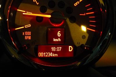 走行距離1234km!