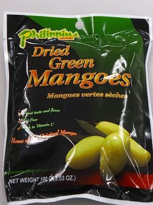 Dry Green Mango