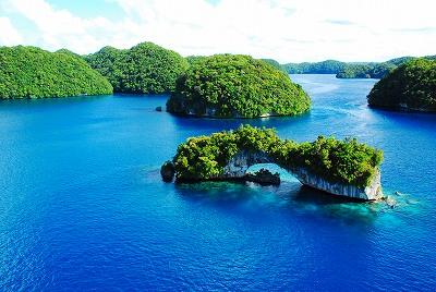 Natural Bridge, Rock Islands, Palau