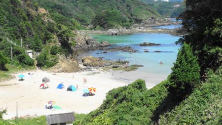 九十浜ビーチ(1)