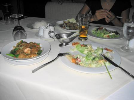 ラヤン 夕食