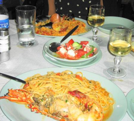 タキュピアのロブスタースパゲティ 2005年