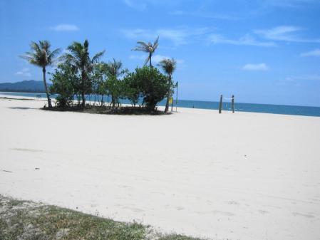 ラサリアリゾートのビーチ