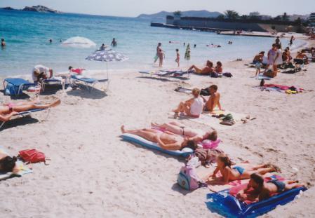 イビサのビーチ