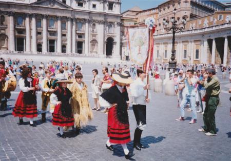 ローマ サンピエトロ広場