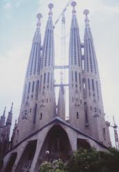 サグラダファミリア 1991