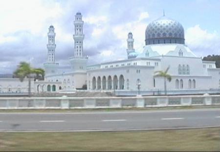 市内のモスク