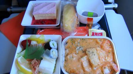 機内食(1)