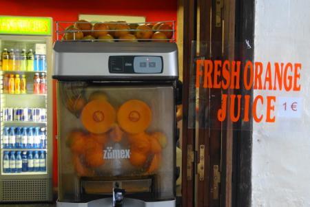 リンドスタウン 生オレンジジュース