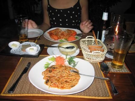 イタリアン ディナー