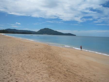 北のビーチ
