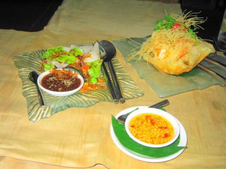 SILKの夕食 1