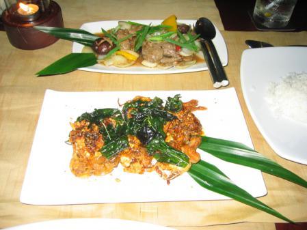 SILKの夕食 2