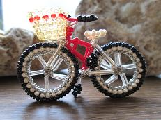 red crossbike