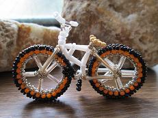 white crossbike
