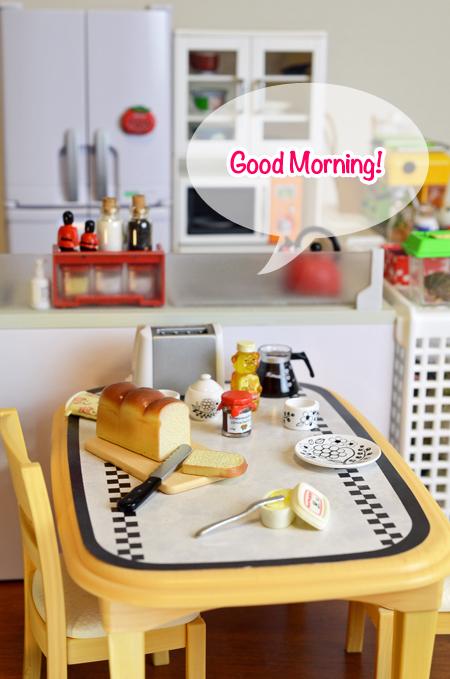 朝の風景。