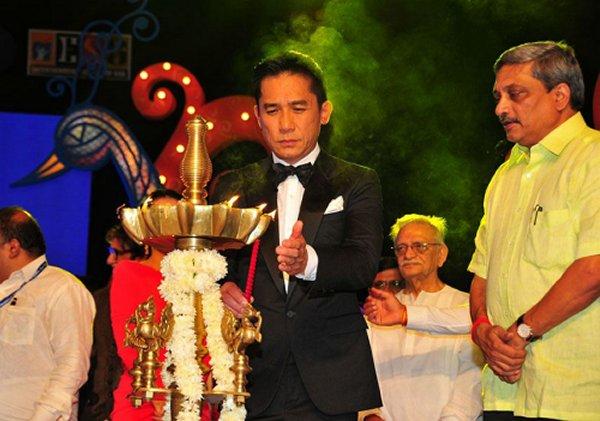 トニーさん@インド国際映画祭