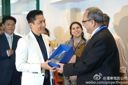 トニーさん@インド国際映画祭2